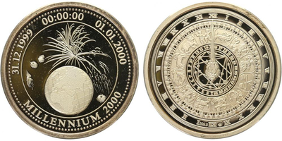 AR Medaile 2000 - Milénium, PROOF