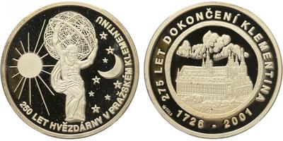 AR Medaile 2001 - Klementinum, PROOF