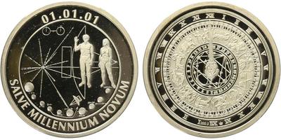 AR Medaile 2001 - Začátek 3. tisíciletí, PROOF