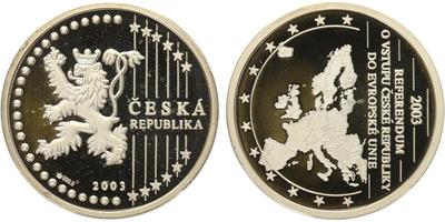 AR Medaile 2003 - Referendum do EU, PROOF
