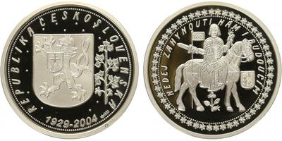 AR Medaile 2004 - Svatováclavské dukáty, PROOF