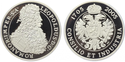 AR Medaile 2005 - Leopold I., PROOF