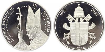 AR Medaile 2005 - Jan Pavel II., PROOF