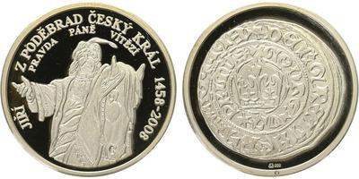 AR Medaile 2008 - Jiří z Poděbrad, PROOF