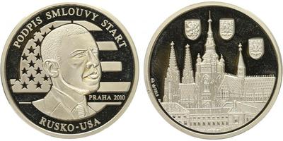 AR Medaile 2010 - Podpis smlouvy Start v Praze 2010, PROOF