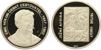 AR Medaile b.l. - Emil Holub - Zima, PROOF