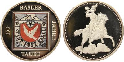 AR Medaile b.l. - Basilejská holubice, PROOF