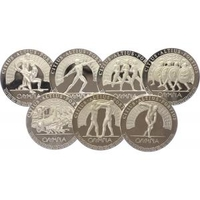 Sada AR medailí b.l. - Olympijské hry 1896 v Aténách, PROOF