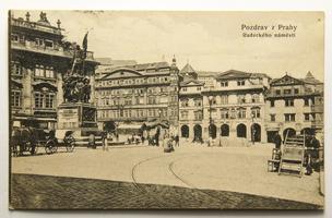 Radošovice, Praha - východ, okénková, 1926
