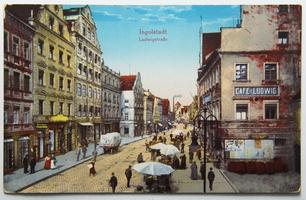Německo, Feuchtwangen, Gruss aus