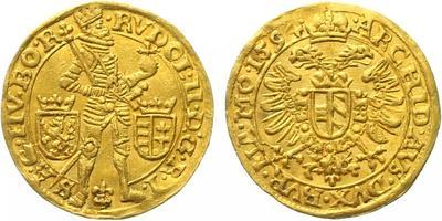 Rudolf II. - Dukát 1594, Praha - Erckerová