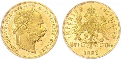 František Josef I., 8 Zlatník 1883