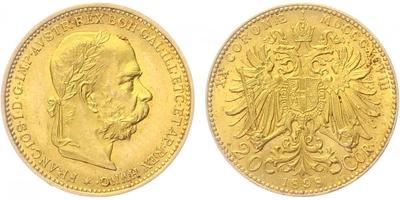 20 Koruna 1898 b.z.