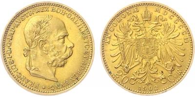 20 Koruna 1902