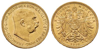 10 Koruna 1910