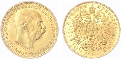 10 Koruna 1911 b.z.