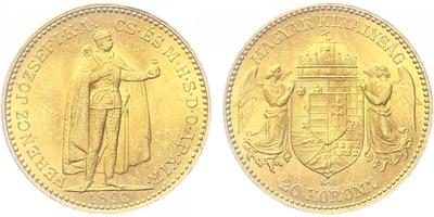 20 Koruna 1893 KB
