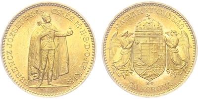 20 Koruna 1896 KB