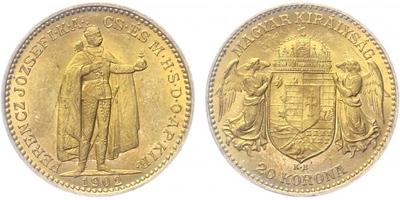20 Koruna 1902 KB
