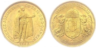 20 Koruna 1903 KB