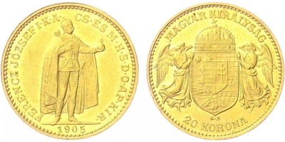 20 Koruna 1905 KB