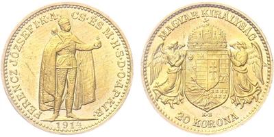 20 Koruna 1914 KB