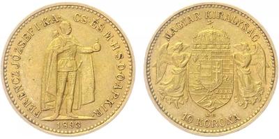 10 Koruna 1893 KB