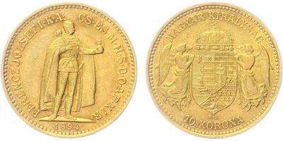 10 Koruna 1894 KB