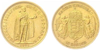 10 Koruna 1901 KB