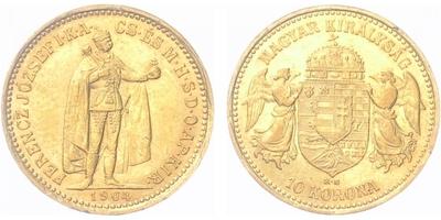10 Koruna 1904 KB