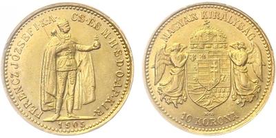 10 Koruna 1905 KB