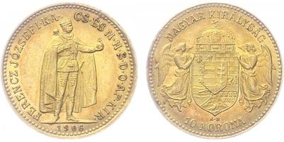 10 Koruna 1906 KB