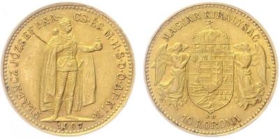 10 Koruna 1907 KB