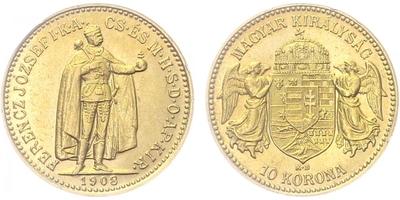 10 Koruna 1908 KB