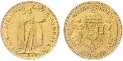 10 Koruna 1909 KB