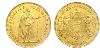 10 Koruna 1911 KB