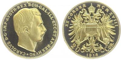 20 Koruna 1918