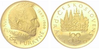 Medaile 1969, Purkyně, PROOF