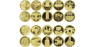Sada 10 kusů mincí 2006 - 2010  - Kulturní památky technického dědictví, PROOF