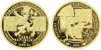 2500 Kč 2006 - Velké Losiny, PROOF