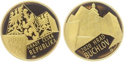 5000 Kč 2019 - Hrad Švihov, běžná kvalita