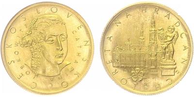 Dukátová medaile b.l. (Z.Kolářský) - Loreta na Hradčanech