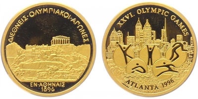 Medaile 1996 - Atlanta 1996, PROOF