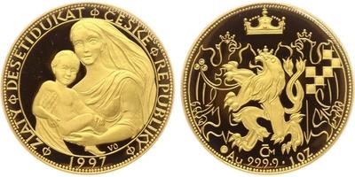 Desetidukát 1997 - Zlatý desetidukát České republiky, PROOF
