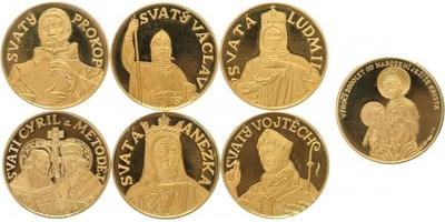 Sada medailí b.l. (2000) - 2000 let od narození Ježíše Krista - PROOF