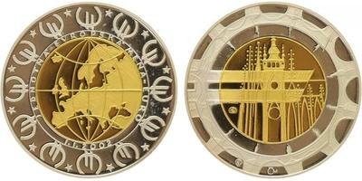 Dukát ČR 2002 - Au 0,9999 (3,11 g), PROOF
