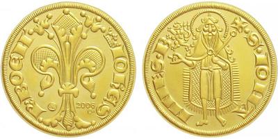 Medaile 2006  - Replika florénu Jana Lucemburského