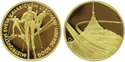 Medaile 2009 - MS v lyžování - Liberec, PROOF