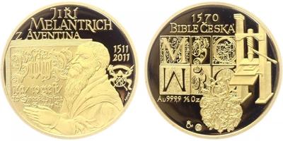 Medaile 2011 - Jiří Melantrich z Aventina, PROOF