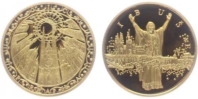 Medaile b.l. - Kněžna Libuše, PROOF